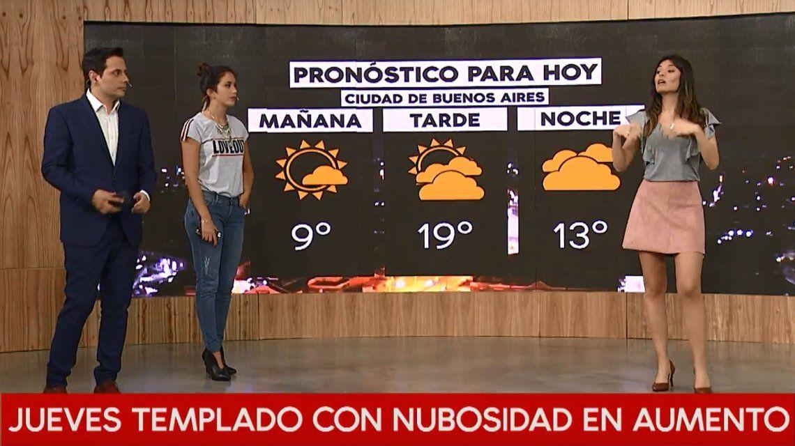 Pronóstico del tiempo del jueves 28 de junio de 2018
