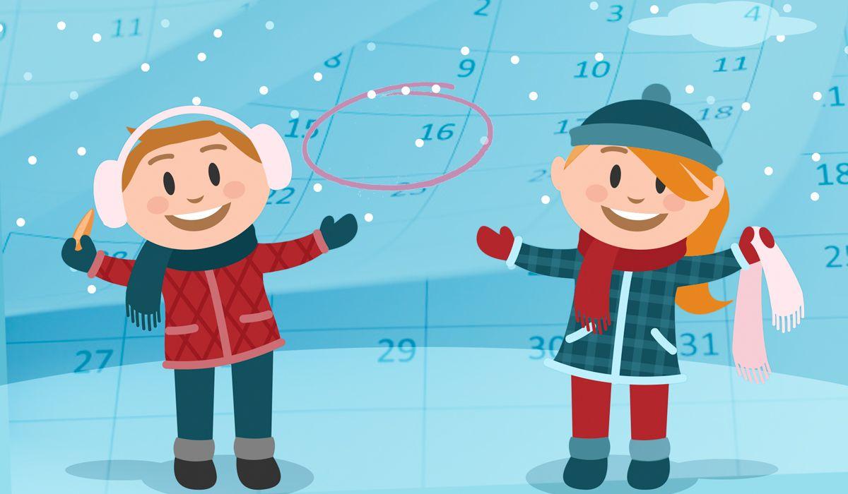 Atentos, chicos (y también los padres): ¿cuándo empiezan las vacaciones de invierno?