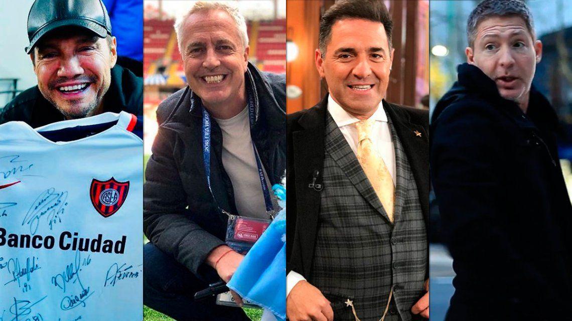 Los famosos argentinos y sus parecidos del Mundial