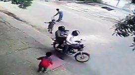 El video en el que se secuestra un nene causó conmoción en la India
