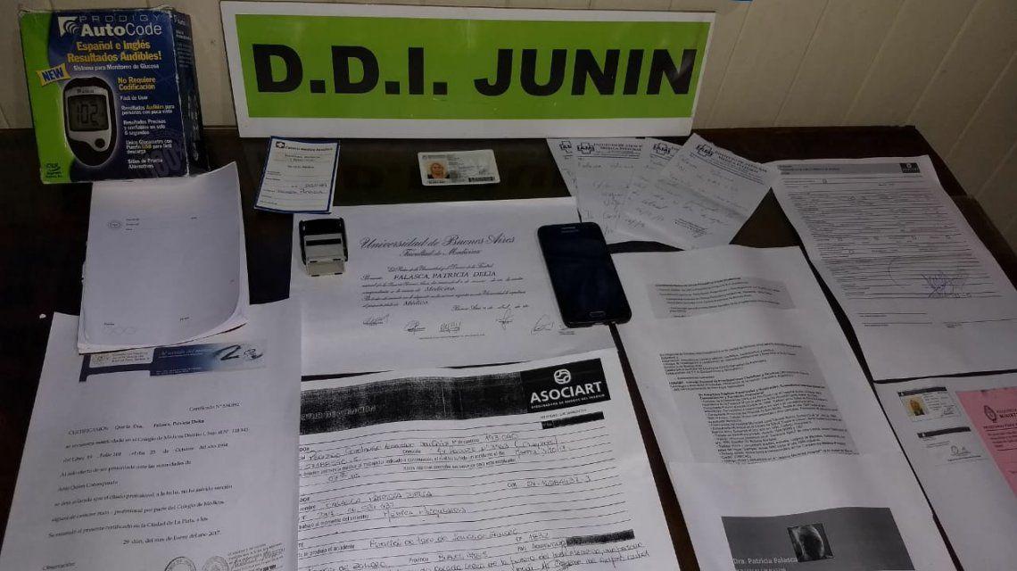 Detuvieron a una falsa psiquiatra en Junín