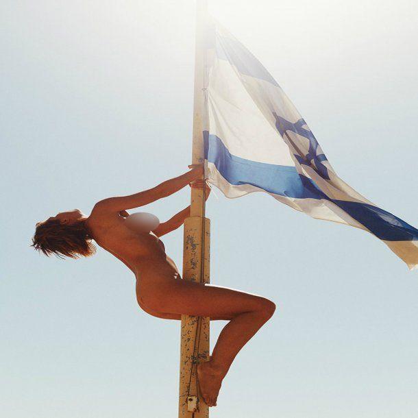 Modelo nudista Marisa Papen - Crédito: marisapapen.com