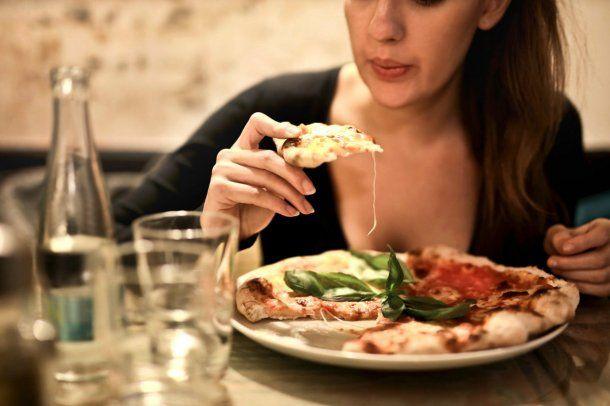 Las pizzas, como las pastas, fueron elegidas por el 10% de los encuestados