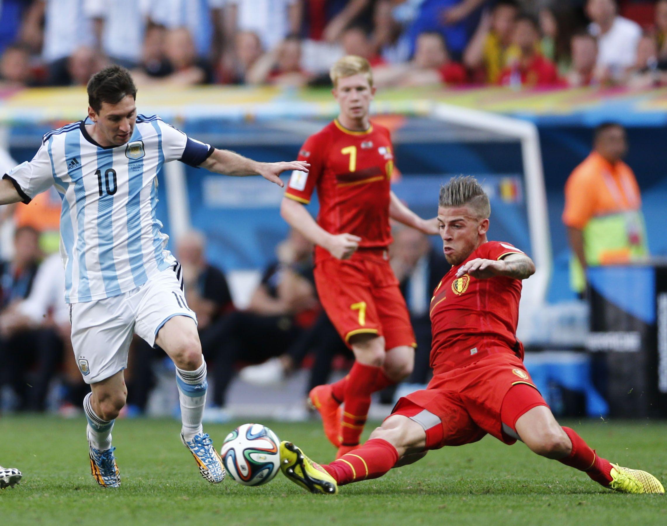 Argentina eliminó a Bélgica en los cuartos de final de Brasil 2014