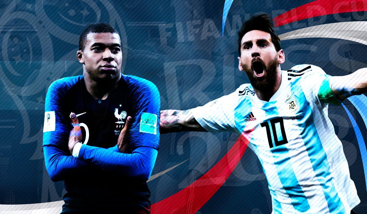 Francia vs. Argentina por los octavos de final del Mundial: horario, formaciones y TV