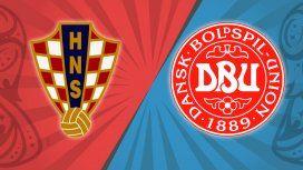 Croacia vs. Dinamarca por los octavos de final del Mundial: horario