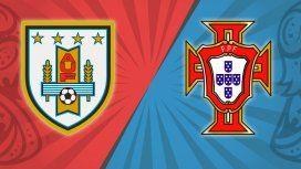 Uruguay vs. Portugal por los octavos de final del Mundial: horario
