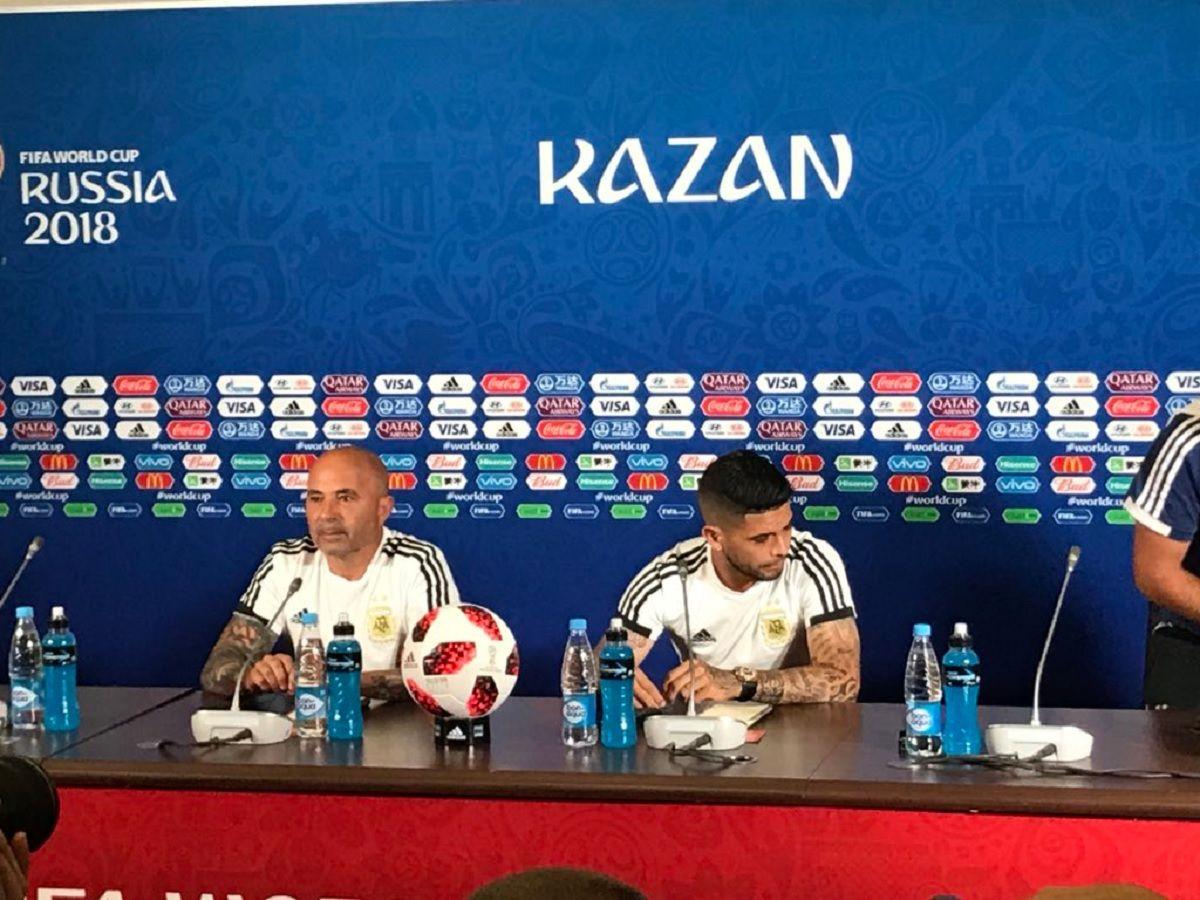Sampaoli habló de su consulta a Messi por un cambio: Es muy personal