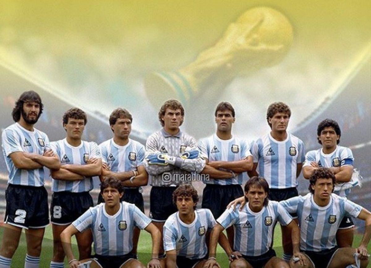 La Selección argentina campeona en el Mundial de México - Crédito: Instagram Maradona