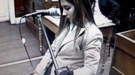 Nahir Galarza declaró en el tramo final del juicio en su contra