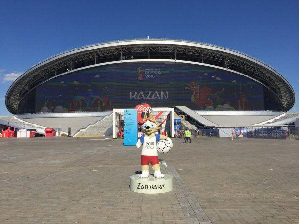 En el Kazan Arena jugará la Argentina contra Francia<br>