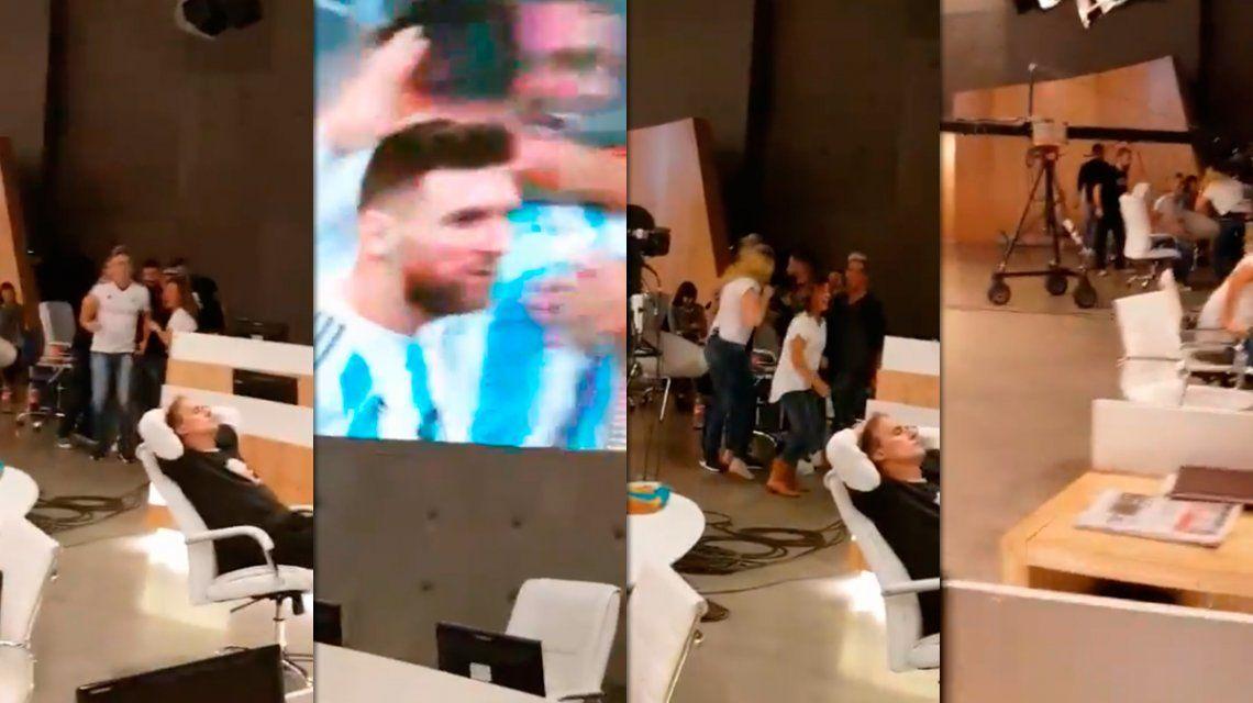 ¡Golazo! La locura en el festejo del gol de Argentina en C5N