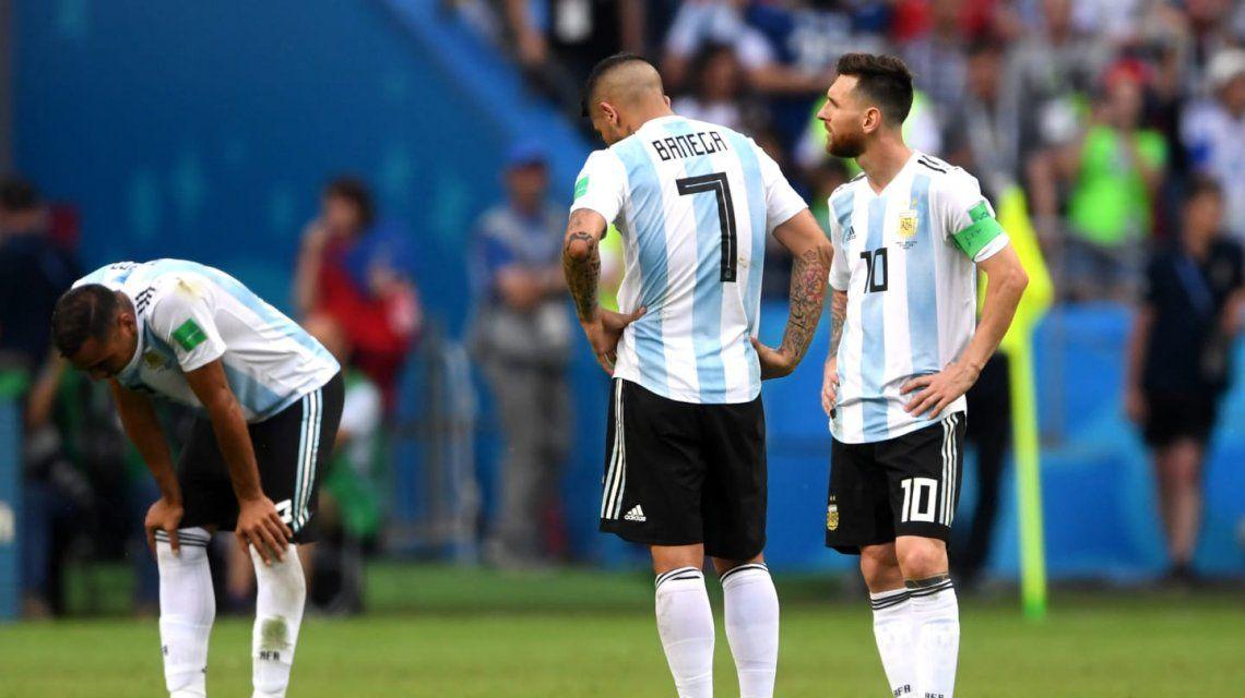 Argentina - Francia: ¿quién fue el peor jugador en la eliminación de la Selección?