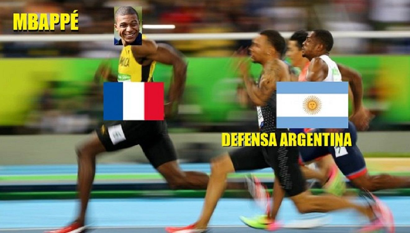 Los memes de la eliminación argentina