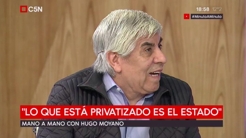 Hugo Moyano en C5N