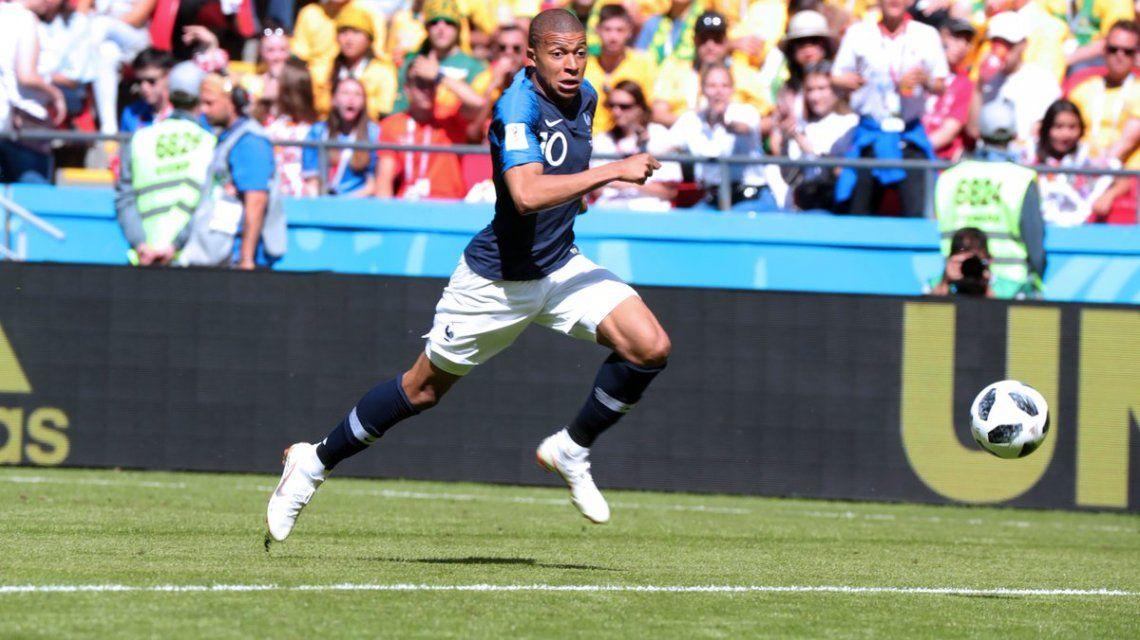Kylian Mbappé en el selección de Francia - Crédito:@equipedefrance