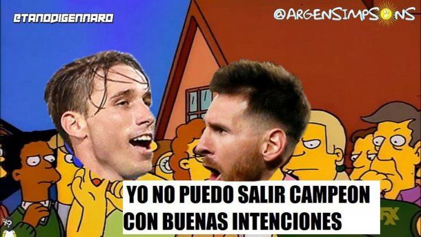 Meme, Messi, Simpson<br>