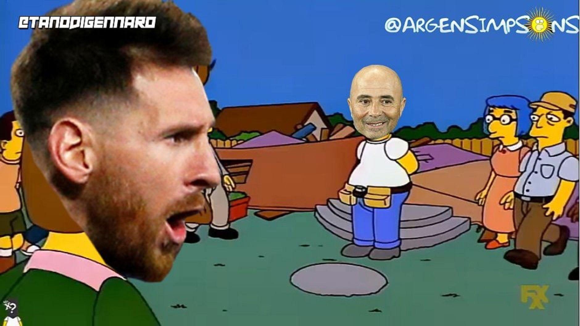 A lo Simpson: Messi estalla y le dice la verdad a todos en la cara