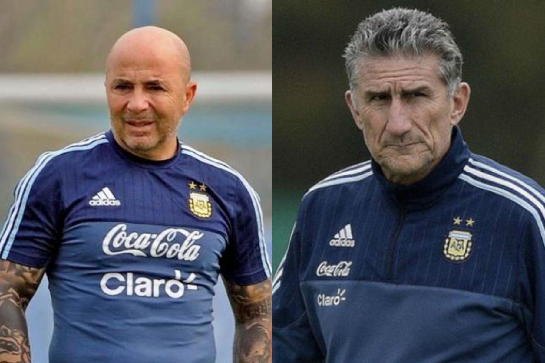 El cruce entre los representantes de Sampaoli y Bauza tras la eliminación de Argentina