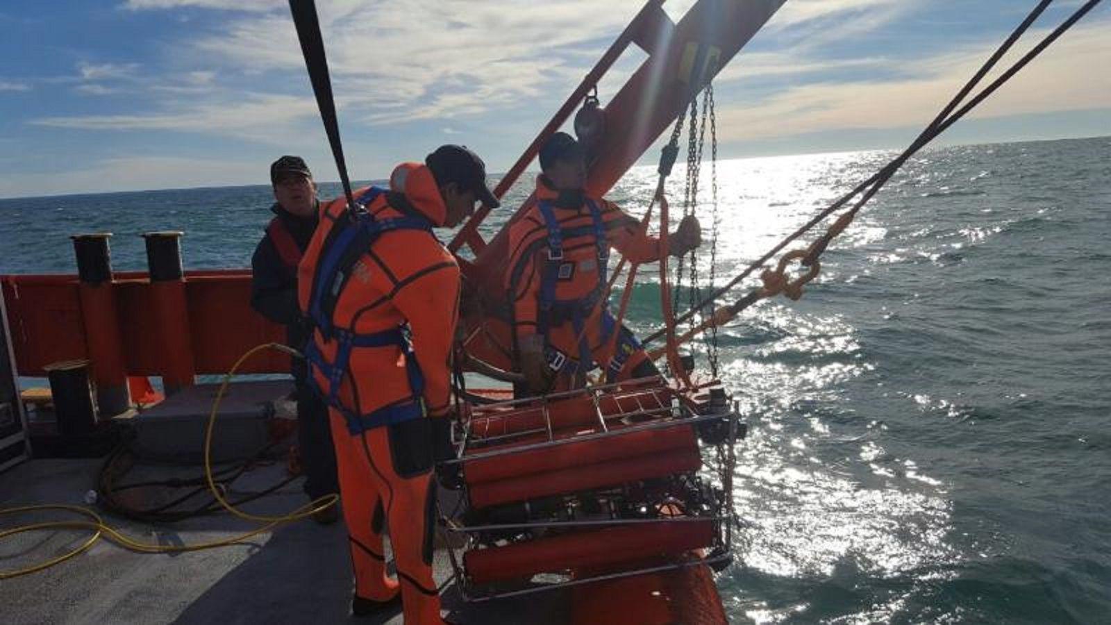Prefectura encontró al buque pesquero Rigel en Chubut