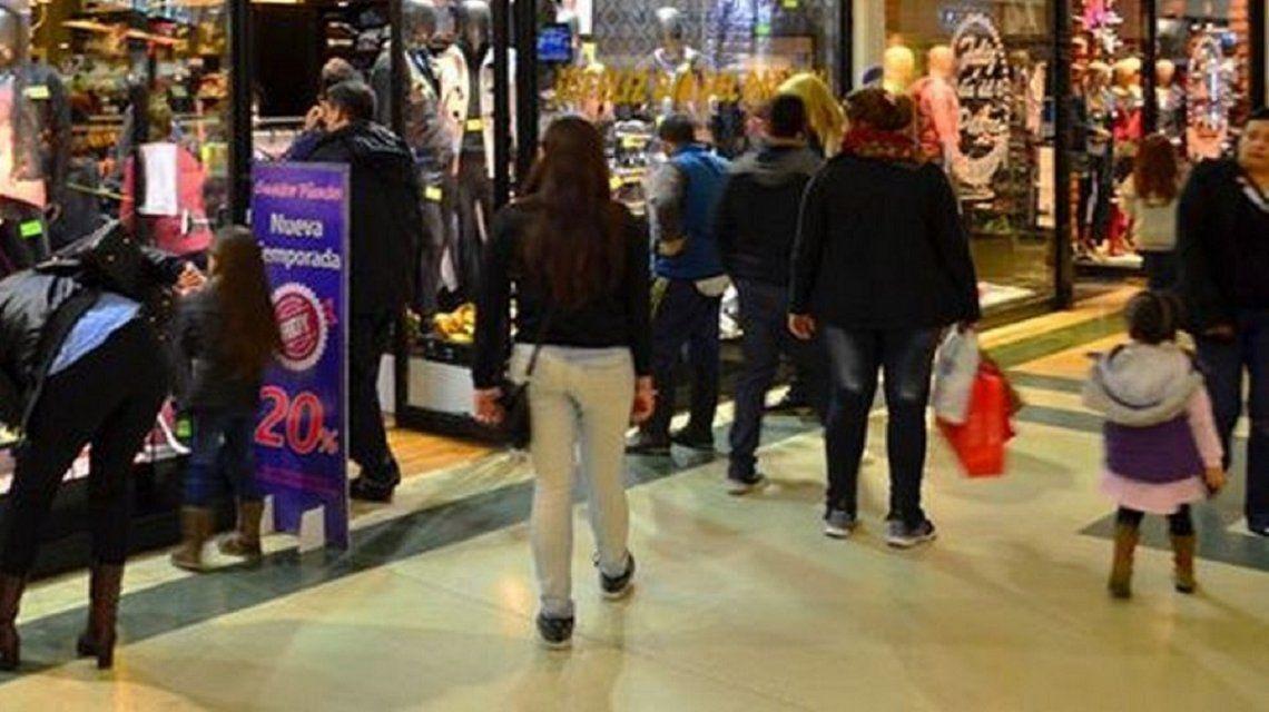 Ventas en shoppings