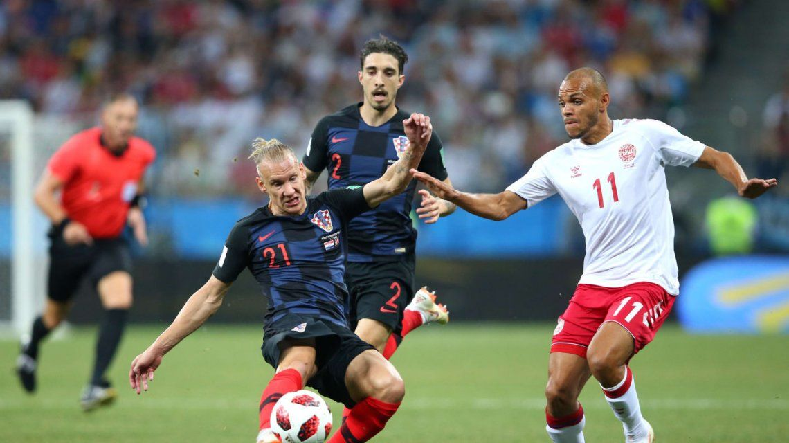 Croacia recién pudo superar a Dinamarca en los penales y jugará con Rusia en cuartos