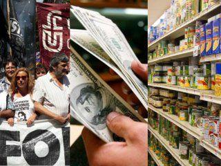 el gobierno sufre la eliminacion de la argentina: corrida cambiaria, reforma laboral y aumentos