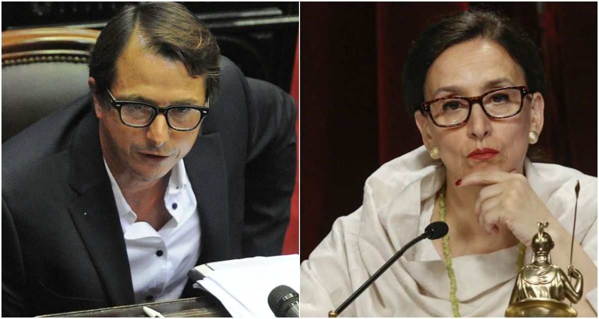 Daniel Lipovetzky y Gabriela Michetti