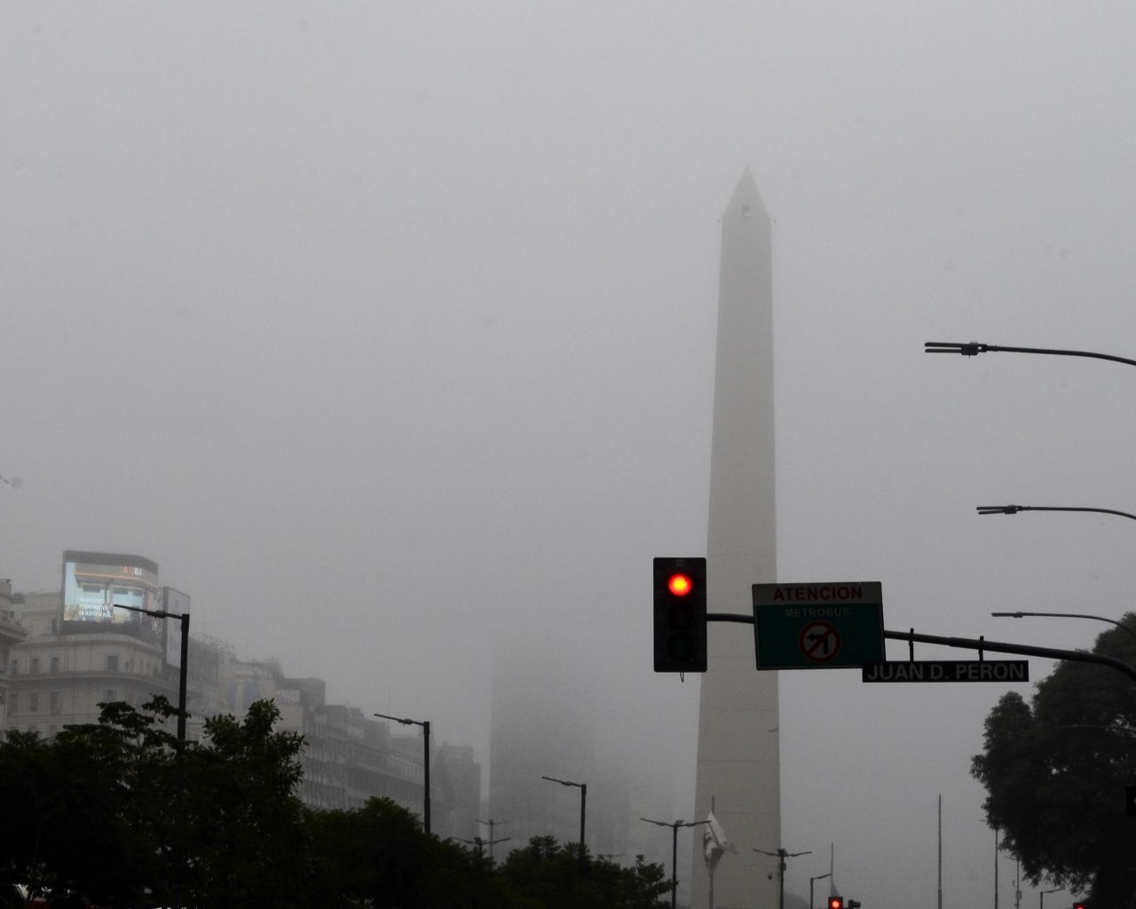 ¿Hasta cuando habrá niebla sobre la Ciudad y alrededores?
