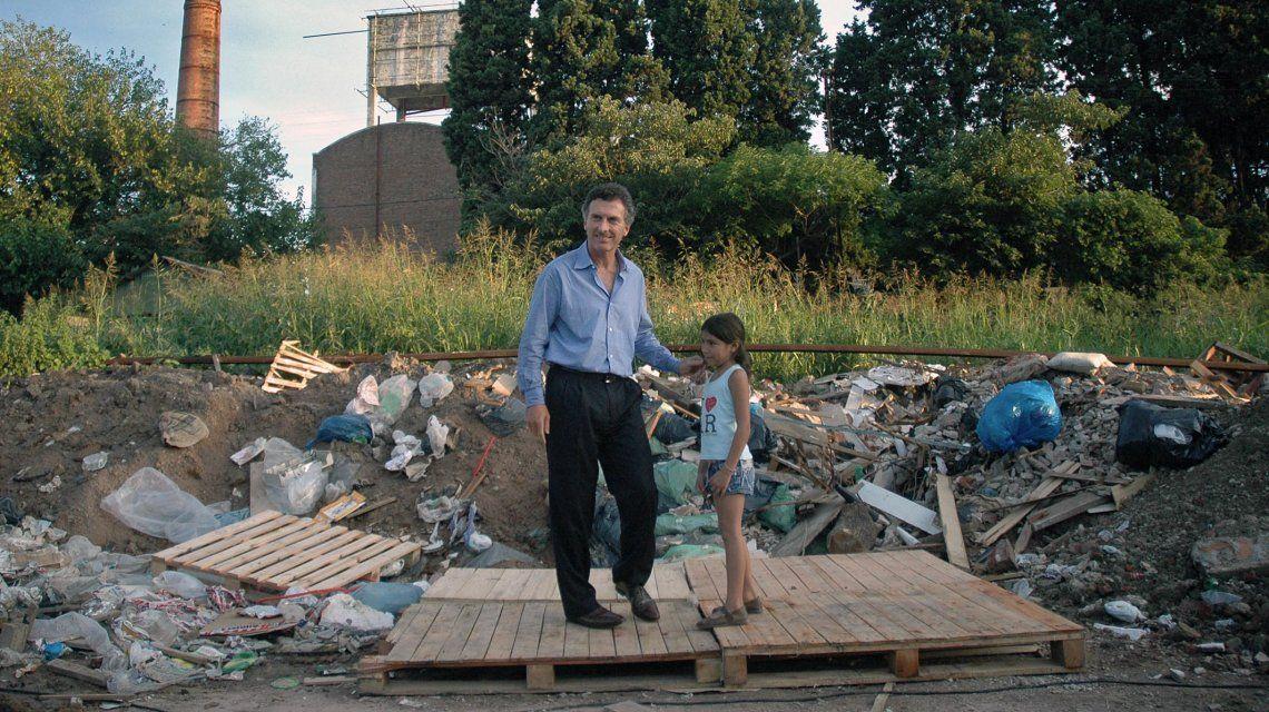 Mauricio Macri con Melina en 2007