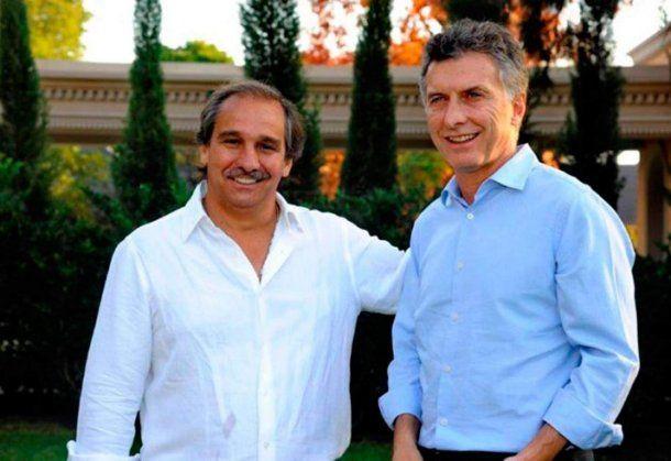 Nicolás Caputo y Mauricio Macri