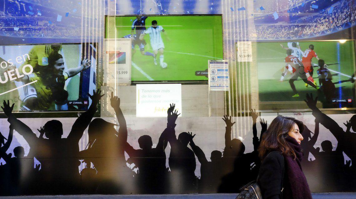 Las ventas de televisores fueron lo único que salvó el consumo