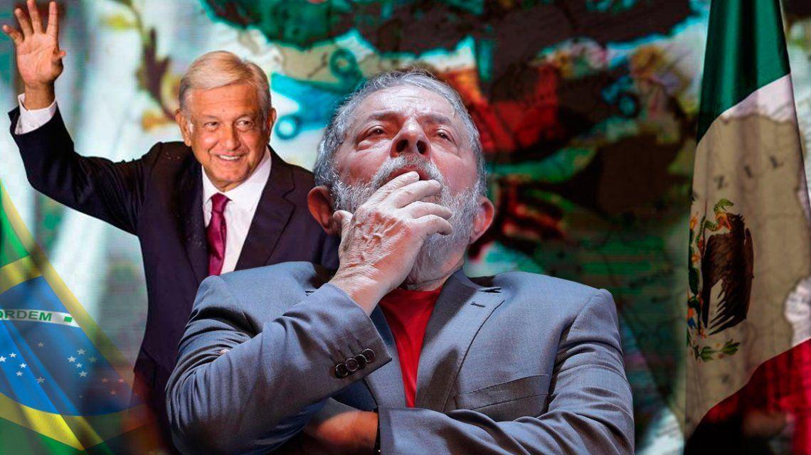 Con el triunfo de AMLO y el liderazgo de Lula, ¿vuelven los gobiernos populares a América Latina?
