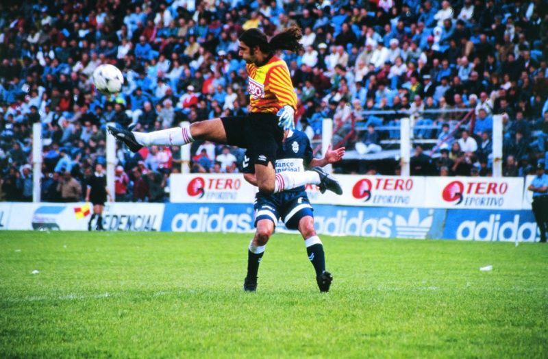 El Gato Sessa jugaba para Estudiantes pero no utilizaba el escudo en su buzo