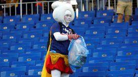 Japón, el equipo ejemplar: limpiaron el vestuario y agradecieron