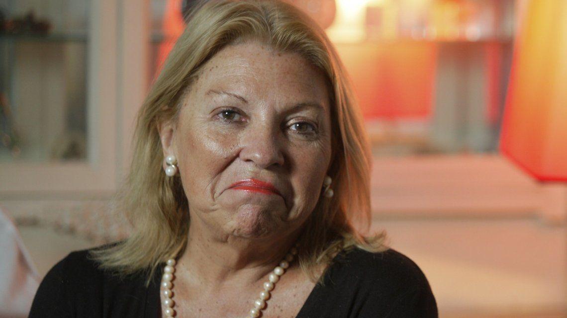 El increíble fallido de Carrió: tras pedir por las propinas ahora reclamó mantener las coimas