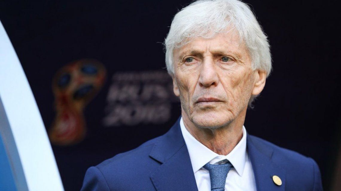 Pekerman would stop being the coach of Colombia, do you come close to Argentina?