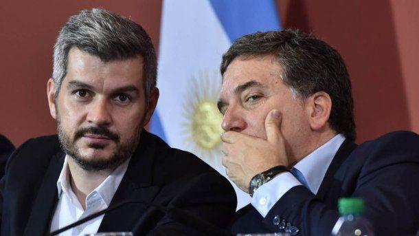 Marcos Peña y Nicolás Dujovne<br>