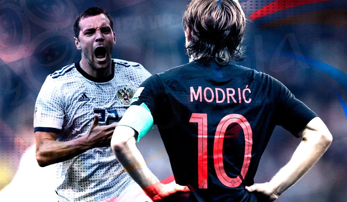Rusia vs. Croacia por los cuartos de final del Mundial: horario, formaciones y TV