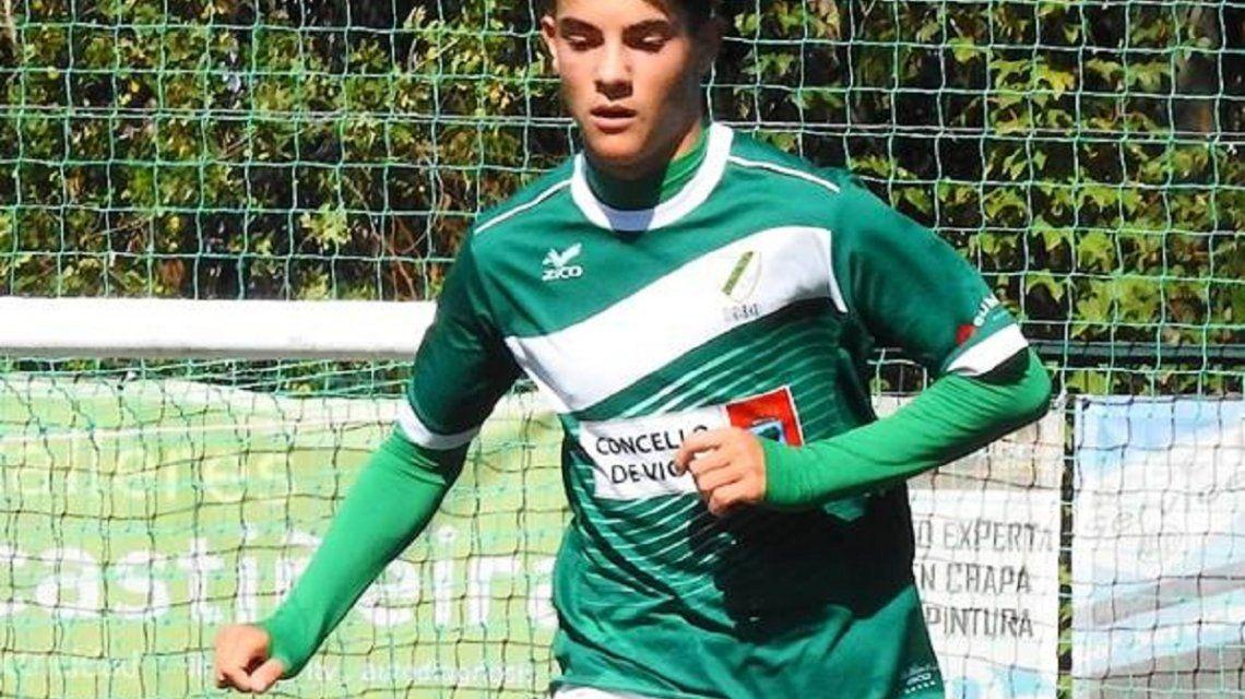 Murió Fabio Soto deCoruxo FC - Crédito:@CoruxoFC1