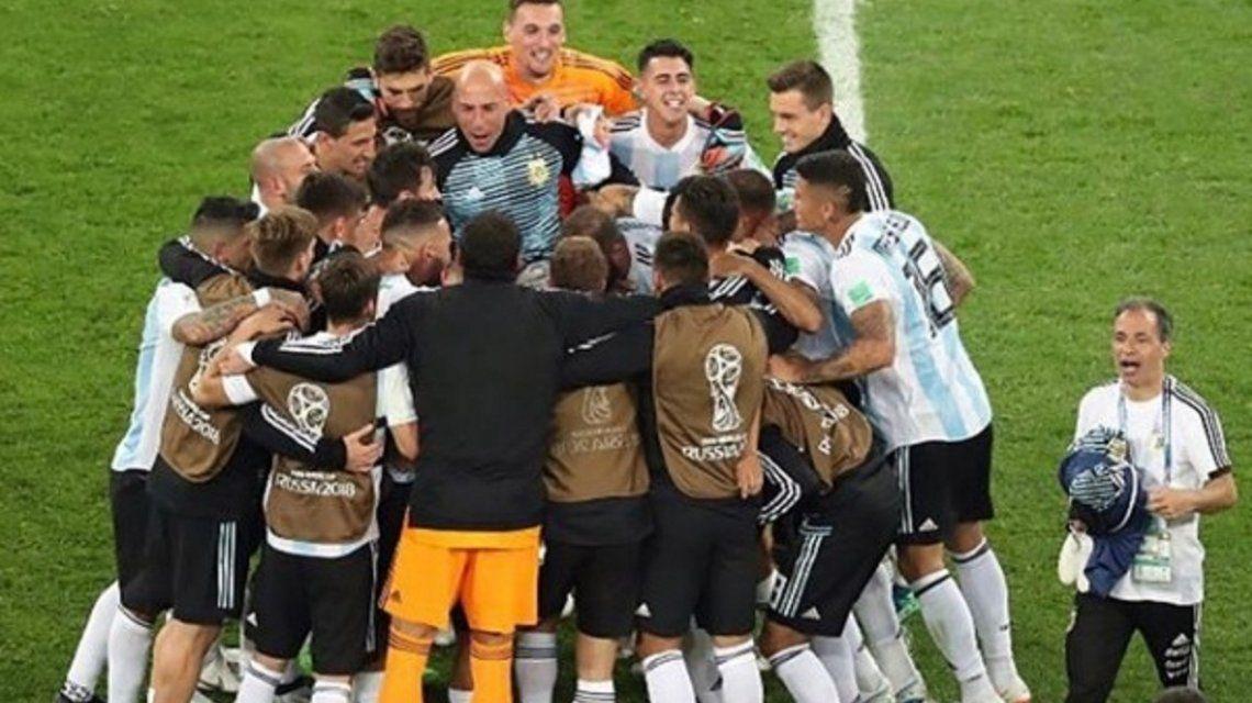 Selección argentina - Crédito: Instagramnicolasotamendi30