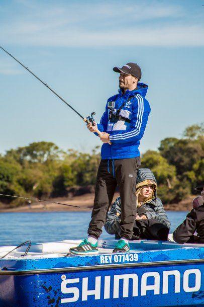 Pesca, la pasión de Rodrigo Mora