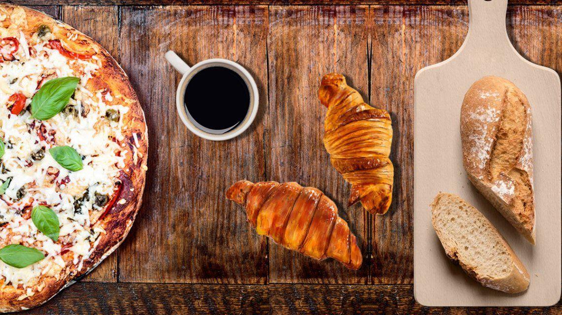 Café, pizzas, facturas y pan, un lujo: aumentan muy por encima de la inflación
