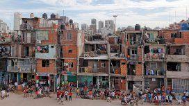 Villa 31, una de las primeras en comenzar la urbanización