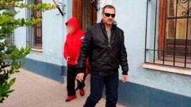 El papá de Nahir, Marcelo Galarza, fue a visitar a su hija