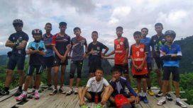 Los chicos del club solían realizar excursiones en equipo.