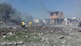 Explosión de pirotecnia enTultepec, México - Crédito:@Caasi201