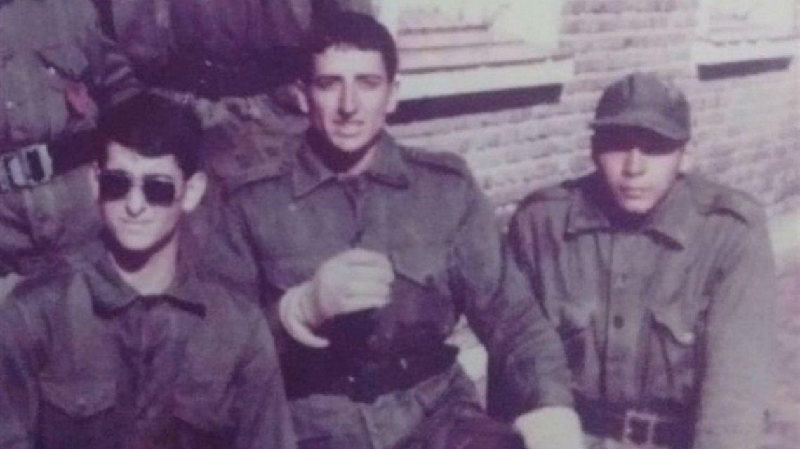Andrés Folch durante la guerra de Malvinas