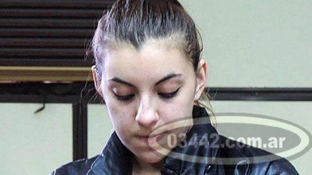 Paula Araceli Benítez, la más joven en recibir prisión perpetua - Fuente: 03442.com.ar