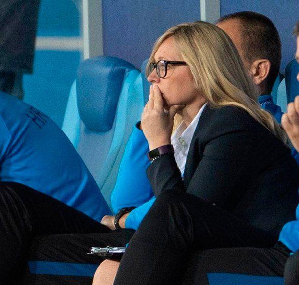 Iva es la primera mujer en convertirse jefa de una selección en un Mundial